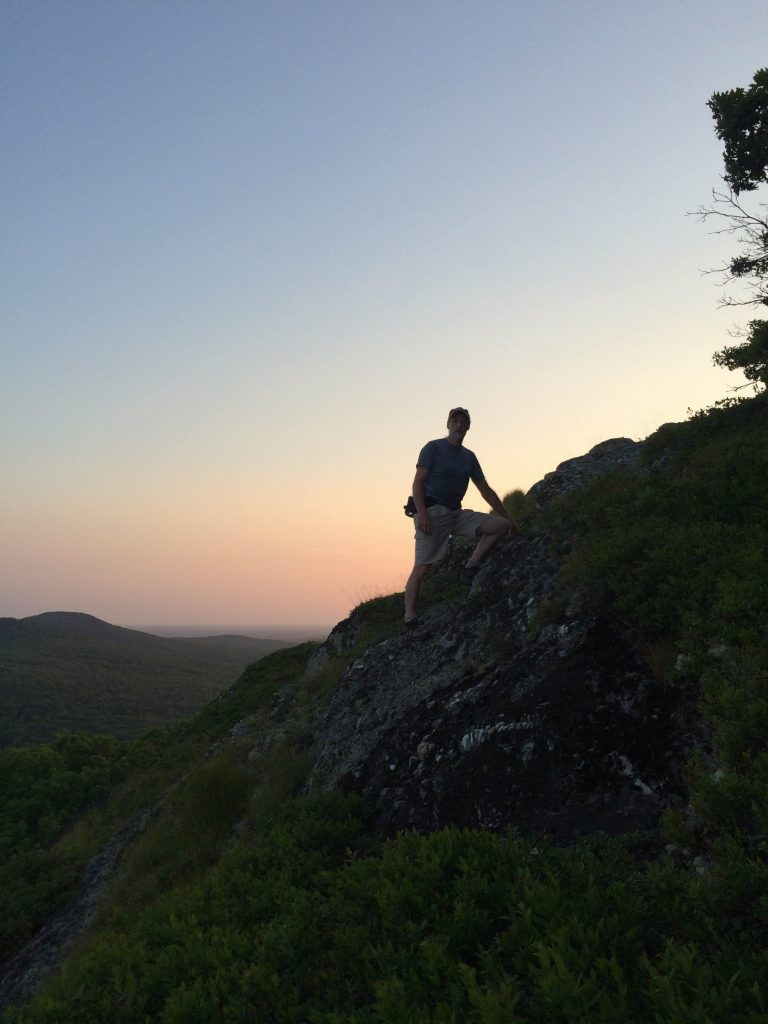 An evening jaunt up Elephant's Head, Camden, ME.